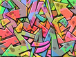 Graffiti Background - 72253416