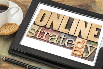 online strategy on a tablet