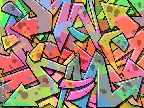 Aluminium Graffiti Graffiti Background