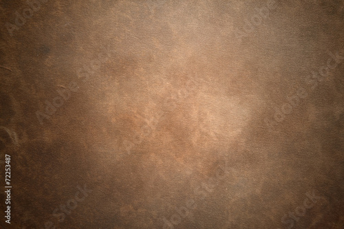 canvas print picture Old vintage brown leather background
