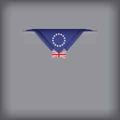 Symbolic flag of Cook Islands