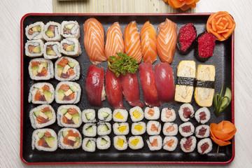 compilation des sushis et sashimis