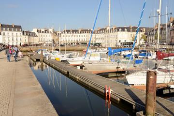 Rive droite du port de Vannes