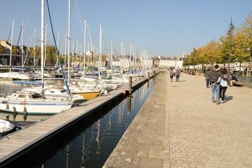 Rive gauche du port de Vannes