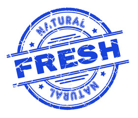 fresh stamp