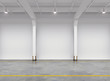 Empty warehouse interior - 72257035