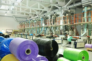 color polythene fabric