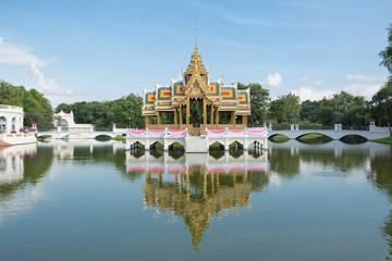 Phra Thinang Aisawan Thiphya-art at Bang Pa-In Palace, Thailand
