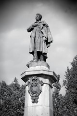 Warsaw - Adam Mickiewicz statue