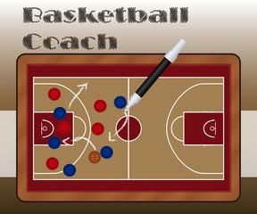 Slate Basketball Coach
