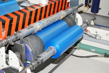 wounding roll of polyethylene