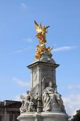 Victoria Monument on Buckingham Palace roundabout in London, UK