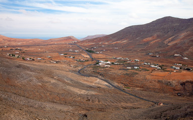 Inland Northern Fuerteventura, Canary Islands