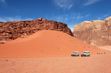 Wadi Rum dune safari trip, Jordan