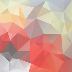 vector background triangular design in pastel love colors