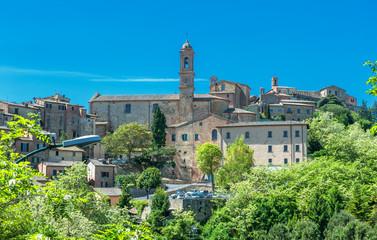 View of Montepulciano, Tuscany, Italy