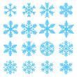 Various snowflakes - 72261677