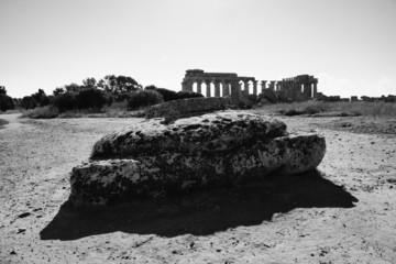 Italy, Sicily, Selinunte, Greek Hera Temple (409 b.C.)