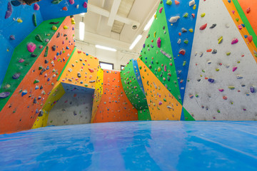 Indoor climbing training