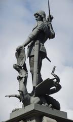Saint George Killing the Dragon (sculpture)