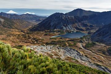 Beautiful mountain autumn landscape