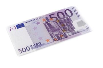 500 Euros bill