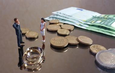 Les dépenses du mariage : les alliances