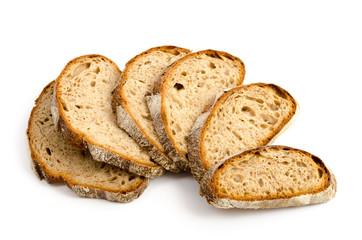 Toskanisches Landbrot - einige Brotscheiben