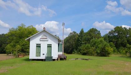 Old Historic Restored Train Depot