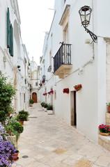Vicoli di Locorotondo, Puglia