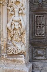Duomo Cathedral of Altamura. Puglia. Italy.