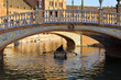Boat trip on Plaza of Spain in Seville, Andalusia, Spain