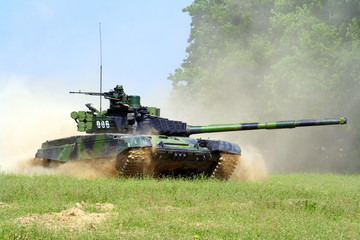 Army tank T-72M4 CZ