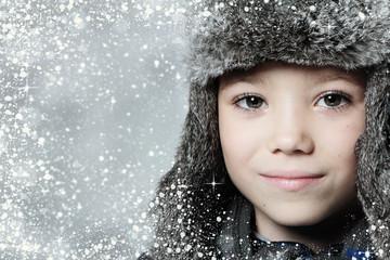 Winter boy