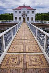 Marly Palace in Peterhof. St. Petersburg, Russia