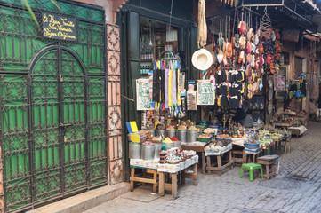 Shop in the medina of Marrakesh