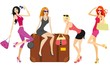 women going on holiday