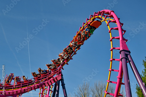 parc d'attraction -le grand huit - 72275498