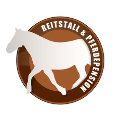 schild reitstall + pferdepension I