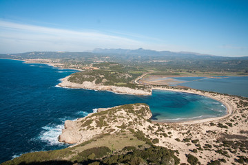 Voidokila bay, Peloponnesus, Greece