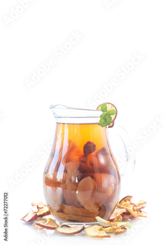 compote of dried fruits - 72277012