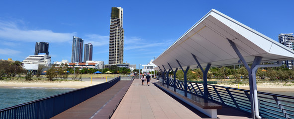 Southport Pier Gold Coast Queensland Australia