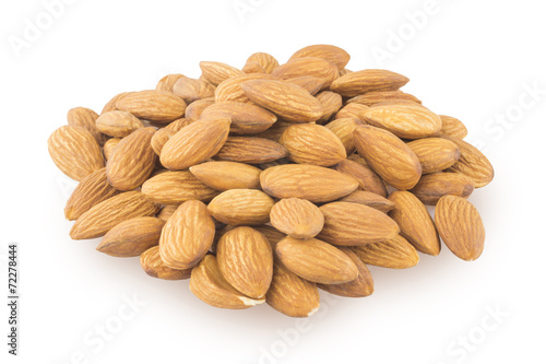 canvas print picture Pile of almonds