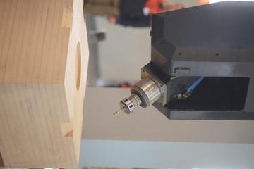 wood-working boring machine