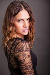 Gorgeous Hispanic woman