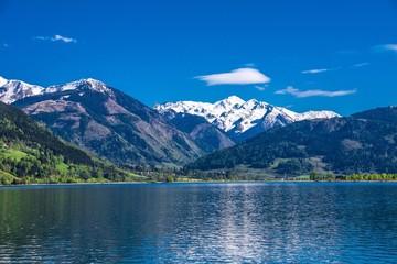 Gletscher Hohen Tauern am Zeller See