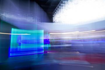 blue futuristic desktop background