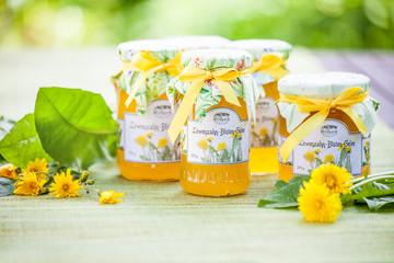Löwenzahn Blüten Gelee