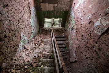 Chernobyl 2 military complex in Zone of Alienation Ukraine