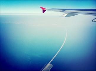 Flugzeug Aussicht